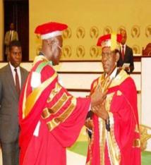 S.E Obiang Nguema Mbasogo, le tout premier Docteur Honoris Causa en architecture et en gestion urbanistique de l'EAMAU !