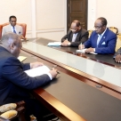Lutte contre la délinquance en Guinée Équatoriale : Le Président préoccupé reçoit en audience ses plus proches collaborateurs
