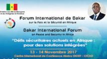 4ème Forum International  de Dakar  sur la Paix et Sécurité en Afrique, du 13 au 14 Novembre 2017