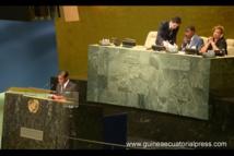 Guinée Equatoriale :  deuxième intervention du vice Président Nguema Obiang Mangué à L'ONU 30/09/2015