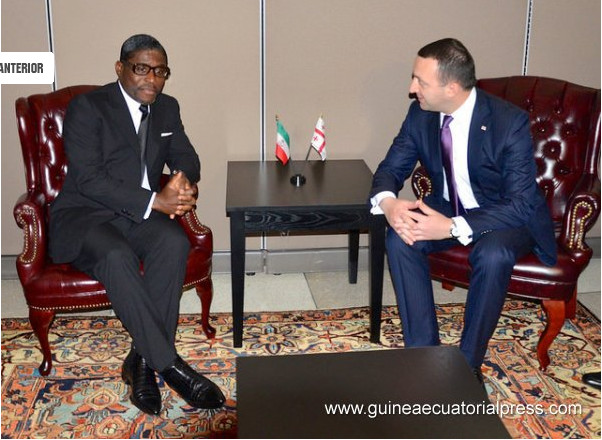 Guinée Equatoriale : images du  vice Président Nguema Obiang Mangué à  l'ONU