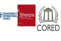 Flash Info : La CORED, Transparency, Sherpa & Associés