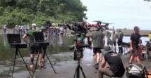 """Guinée Équatoriale Cinéma :  tournage de la première partie du film """"Los Ultimos  de Filipanas ,  sur le sol Equato -Guinéen"""
