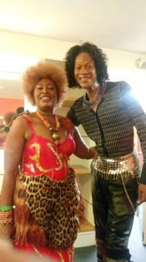 Musique et Culture , revalorisation de la langue Fang en France  : Brigida Mangue Edu épouse Biol honore  la Guinée Équatoriale  lors d'un concert récemment à  L'Olympia !!!