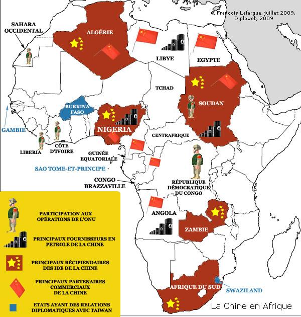 Pour 63% des Africains, l'influence de la Chine sur le continent est positive, selon une étude d'Afrobaromètre