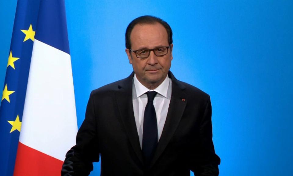 François Hollande renonce à solliciter un second mandat à la tête de la France