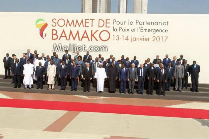 Déclaration finale du Sommet de Bamako pour le partenariat, la paix et l'émergence 14 janvier 2017