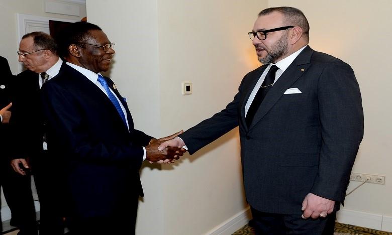 Addis-Abeba: Le Roi offre une réception en l'honneur des chefs d'Etat africains (VIDEO)