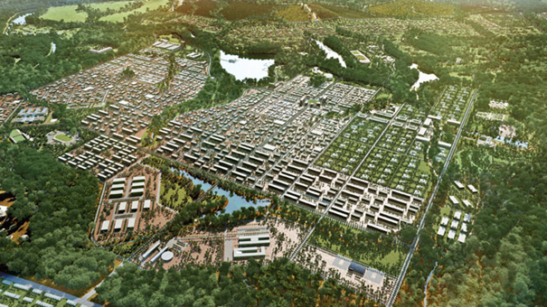 Le transfert de la capitale administrative Malabo  vers une toute autre ville  : Djibloho, une révolution  urbanistique, économique et politique importante...