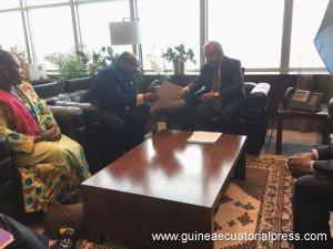 Message du Gouvernement de Guinée Equatoriale au Secrétaire Général de l'Onu Antonio Guterres