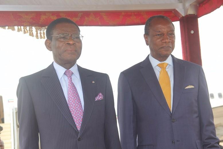 Alpha Condé reconnaît en Obiang Nguema un défenseur de l'Afrique, bâtisseur et homme de vision.
