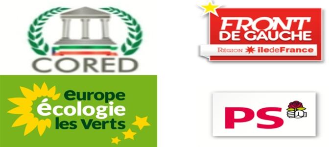 La CORED-PP est-elle parrainée par la Gauche française ?