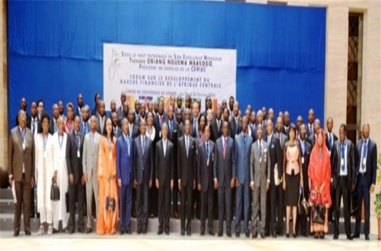 Son Excellence  Obiang Nguema  Mbasogo :  Au  coeur du forum  sur le marché  financier  en Afrique Centrale  !!