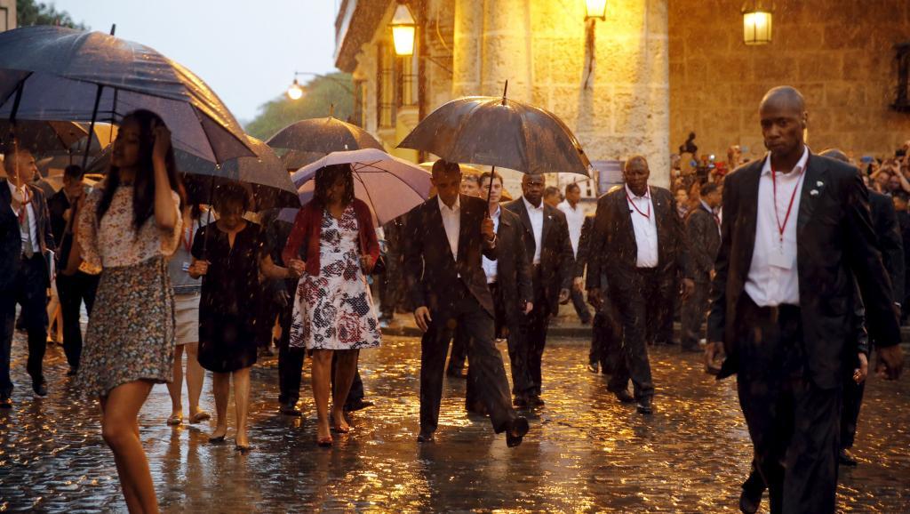A la Une : la visite de Barack Obama à Cuba