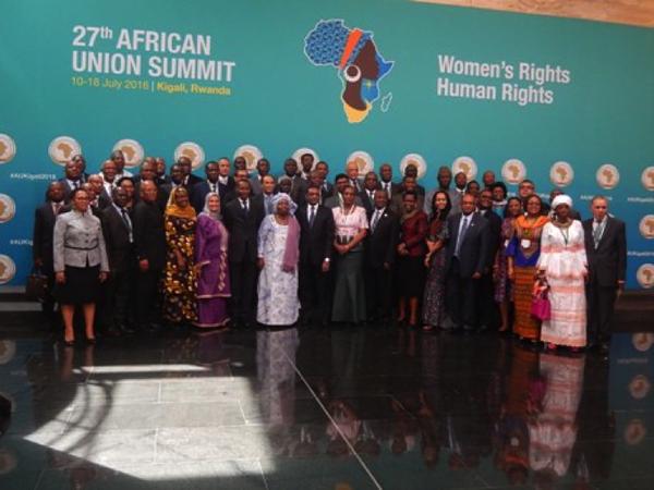 « Solidarité », mot d'ordre à l'ouverture du sommet de l'Union Africaine à Kigali