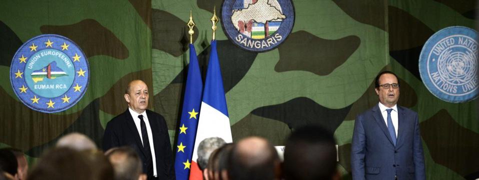 Centrafrique : François Hollande annonce la fin de l'opération Sangaris en octobre