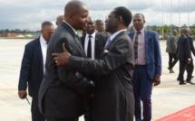Le Président Centrafricain a regagné son pays après avoir été reçu par le Président Obiang Nguema Mbasogo dans sa ville natale de MONGOMO