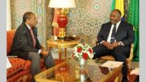 Activités présidentielles  : Un émissaire de Téodoro Obiang Nguema  Mbasogo hôte d'Ali Bongo Ondimba