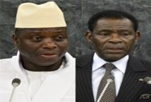 """Exil de Yahya Jammeh en Guinée Equatoriale : Obiang Nguema Mbasogo panafricain dans l'âme ou """" PAPA AFRICA """"  toujours prêt à tendre la main et à sauver l'honneur de l'Afrique !!!"""