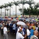 """Procès de Teodoro Nguema Mangue : Manifestation à Malabo contre """"l'ingérence française"""""""