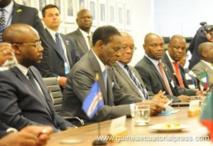 Guinée Equatoriale-Gambie  :  Rencontre entre le Président Obiang Nguema Mbasogo et le Président Adama Barrow à New York