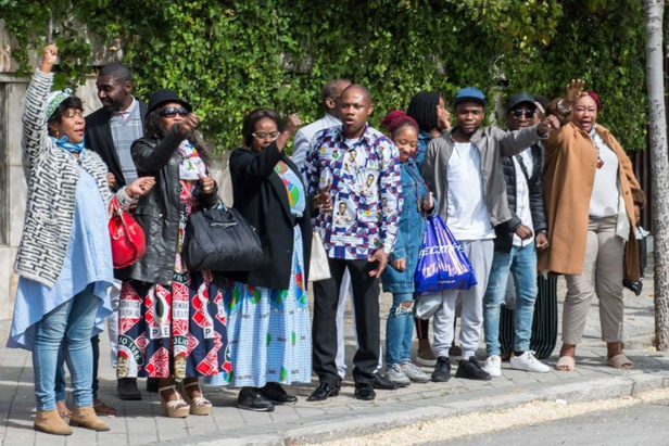L'acte Patriotique de la communauté Equato-Guinéenne  résidant en Espagne