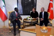 Le Président Obiang Nguema Mbasogo présent au  sixième Congrès du Parti du Président  Recep Tayyip Erdogan