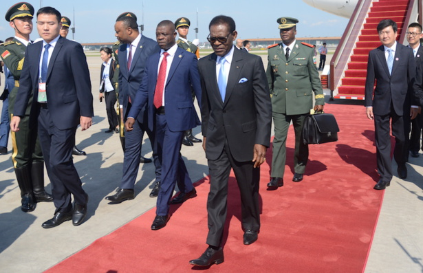 Le Président Obiang Nguema Mbasogo assiste au Sommet du Forum sur la coopération sino-africaine