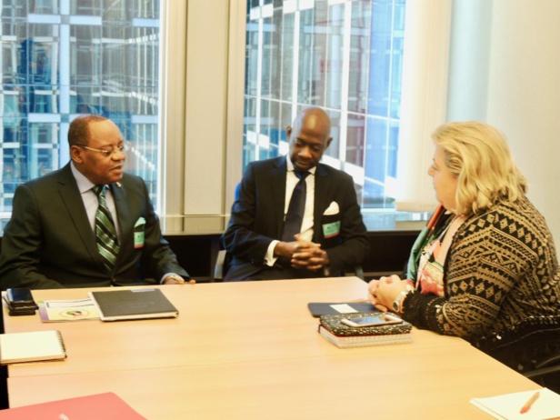 Photo : Ambassade de Guinée Equatoriale à Bruxelles  en Belgique