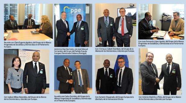 Photos : Ambassade de Guinée Equatoriale à Bruxelles en Belgique