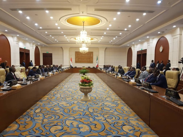 Guinée Equatoriale/Soudan : Le président  Obiang Nguema Mbasogo en visite d'Etat au Soudan