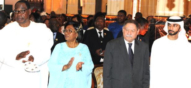 Guinée Equatoriale : Le couple présidentiel a fêté ses 50 ans de mariage à Malabo