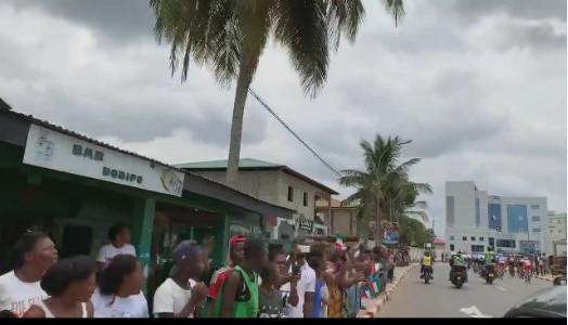 Tropicale Amissa Bongo : Les autorités Gabonaises accueillies en Guinée Équatoriale pour l'étape 5 Bitam- Mongomo !