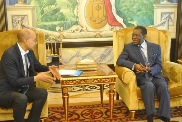 Le président reçoit l'ambassadeur de France