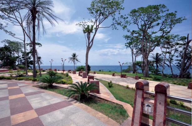 Le paseo maritimo Sipopo (Malabo)