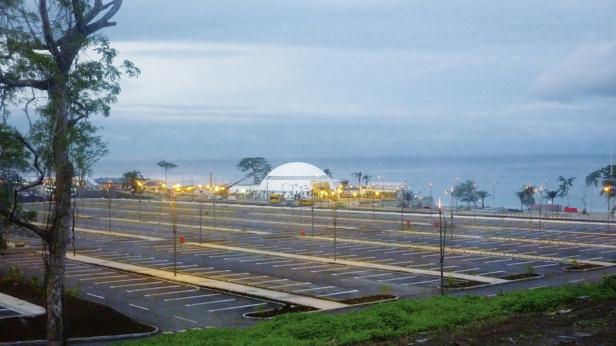 parking de Sipopo (Malabo)