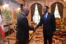 Guinée Equatoriale/Bénin : Le Président Obiang Nguema Mbasogo reçoit l'envoyé spécial de son homologue Béninois Patrice Talon !