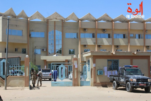 Le Palais de justice de N'Djamena