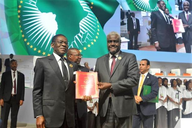 Le Président Obiang Nguema Mbasogo est arrivé à Niamey pour participer au lancement officiel de la zone de libre-échange en Afrique