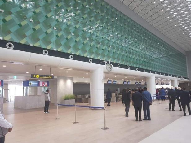 L'aéroport international GENERAL OBIANG de Mongomeyen inaugure sa nouvelle aérogare de 95 milliards FCFA