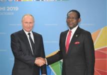 Offensive russe : Poutine en visite en Guinée Equatoriale