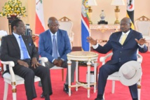 Le Président Obiang Nguema Mbasogo est en Ouganda pour visiter un camp de réfugiés