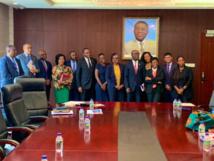 Une délégation du Fonds africain d'appui juridique – ALSF visite la Guinée équatoriale