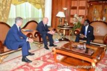 Le président de la République a reçu l'ambassadeur de la Russie