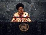 Centrafrique: la présidente de retour à Bangui, où la tension baisse