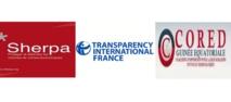 Sherpa et Transparency embarrassés organisent les dissidents en conférence à Paris