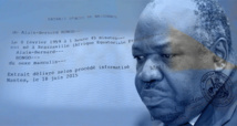"""Acte de naissance d'Ali Bongo: une plainte pour """"faux"""" déposée en France"""
