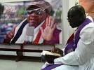 Hommage d'Abidjan à Papa Wemba, avant ses funérailles à Kinshasa