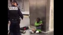 France : Scandale au Pays des droits de l'homme, la police humilie un handicapé lors d'une opération de contrôle  !!!