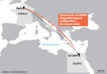 Un vol d'EgyptAir parti de Paris pour Le Caire disparaît des radars